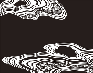 和柄のパターンのイラスト素材 [FYI04499549]