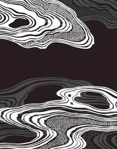 和柄のパターンのイラスト素材 [FYI04499553]