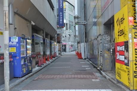 無人の渋谷の写真素材 [FYI04500210]