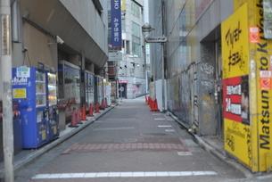自粛により無人の渋谷の写真素材 [FYI04500211]