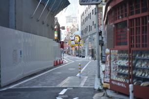 自粛により無人の渋谷の写真素材 [FYI04500223]