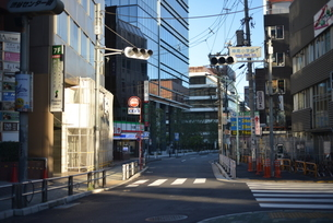 自粛により無人の渋谷の写真素材 [FYI04500229]