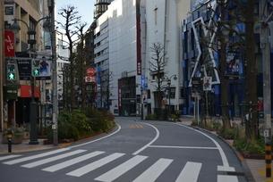 自粛により無人の渋谷の写真素材 [FYI04500241]