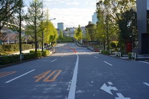 自粛により無人の渋谷の写真素材 [FYI04500254]