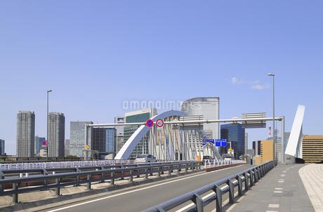 築地大橋の写真素材 [FYI04500371]