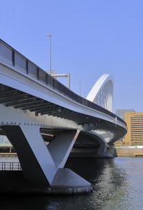 築地大橋の写真素材 [FYI04500372]