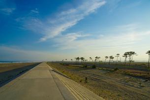 荒浜海岸の風景(宮城県仙台市)の写真素材 [FYI04500763]