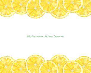 レモンのフレームのイラスト素材 [FYI04501337]