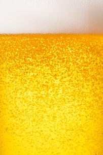 ビールのアップの写真素材 [FYI04501959]