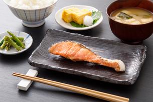 焼き魚定食の写真素材 [FYI04501997]