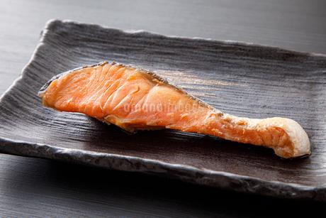 焼き鮭の写真素材 [FYI04501999]