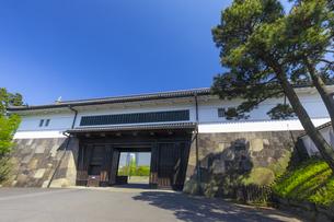 皇居の桜田門の写真素材 [FYI04502028]