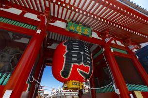 浅草寺の雷門の写真素材 [FYI04502103]