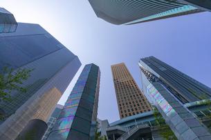 汐留の高層ビル街の写真素材 [FYI04502877]