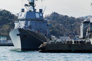 海上自衛隊の護衛艦の写真素材 [FYI04502914]