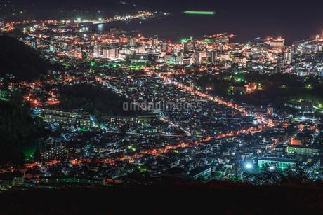 小樽・天狗山からの夜景の写真素材 [FYI04503297]