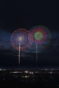 江戸時代3大花火 神明の花火の写真素材 [FYI04504299]