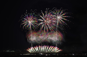 江戸時代3大花火 神明の花火の写真素材 [FYI04504314]