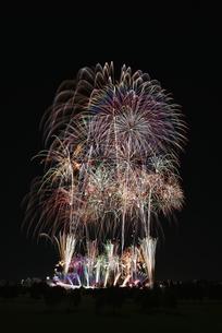 とりで利根川大花火の写真素材 [FYI04504326]