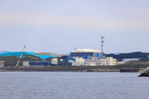 青森県 大間原子力発電所の写真素材 [FYI04504352]