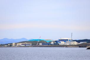 青森県 大間原子力発電所の写真素材 [FYI04504409]