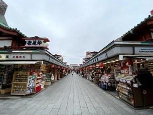 浅草・仲見世通りの写真素材 [FYI04504630]