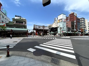 浅草、雷門の写真素材 [FYI04504633]