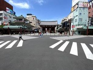 浅草、雷門の写真素材 [FYI04504634]