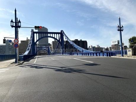 隅田川清州橋の写真素材 [FYI04504638]
