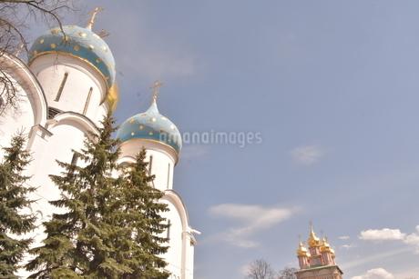 世界有数の宗教都市・世界遺産都市  セルギエフポサード(モスクワ郊外<ロシア>)の写真素材 [FYI04504942]