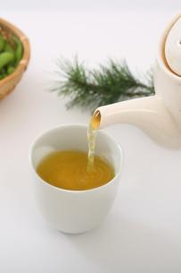 緑茶の写真素材 [FYI04505687]