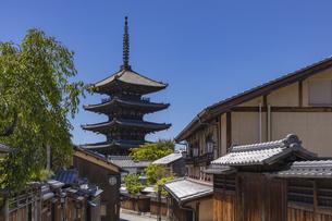 八坂の塔の写真素材 [FYI04507140]