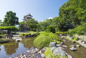 高島城の写真素材 [FYI04507270]
