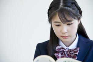 勉強する女子学生の写真素材 [FYI04507450]