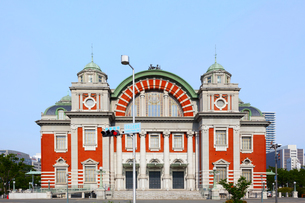 大阪市中央公会堂と青空の写真素材 [FYI04507506]