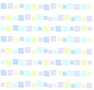 水彩四角形の背景のイラスト素材 [FYI04508128]