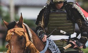 騎馬武者の写真素材 [FYI04509446]