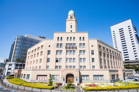 横浜税関の塔(クイーンの塔)の写真素材 [FYI04509513]