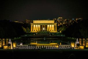 リンカーンメモリアル(ワシントンDC)の写真素材 [FYI04509962]