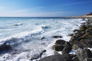 日本海と群来の写真素材 [FYI04510709]