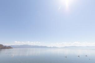 湖イメージの写真素材 [FYI04510759]