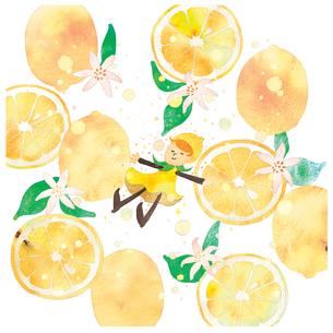 レモンの妖精のイラスト素材 [FYI04510811]