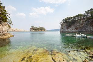 東北 三陸の海イメージの写真素材 [FYI04511021]