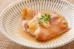 赤魚の煮付けの写真素材 [FYI04511254]