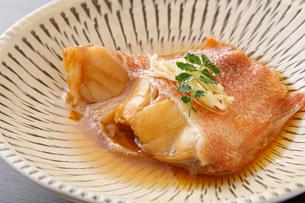 赤魚の煮付けの写真素材 [FYI04511258]