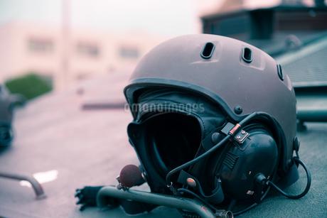 戦車兵のヘルメットの写真素材 [FYI04511282]