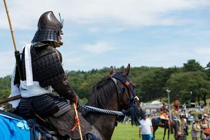 騎馬武者の写真素材 [FYI04511341]