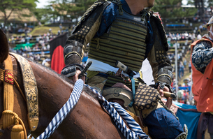 騎馬武者の写真素材 [FYI04511345]