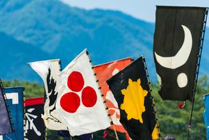 旗印の写真素材 [FYI04511414]