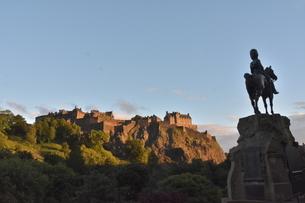 エディンバラ ヨーロッパ有数の独自文化を持つ都市 スコットランド(イギリス)の写真素材 [FYI04511549]